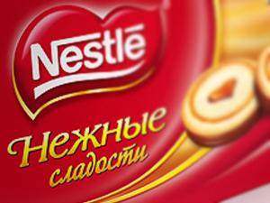 Нежные сладости ТМ Nestle